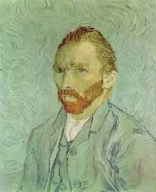 Self-Portrait 1889 Vincent Van Gogh